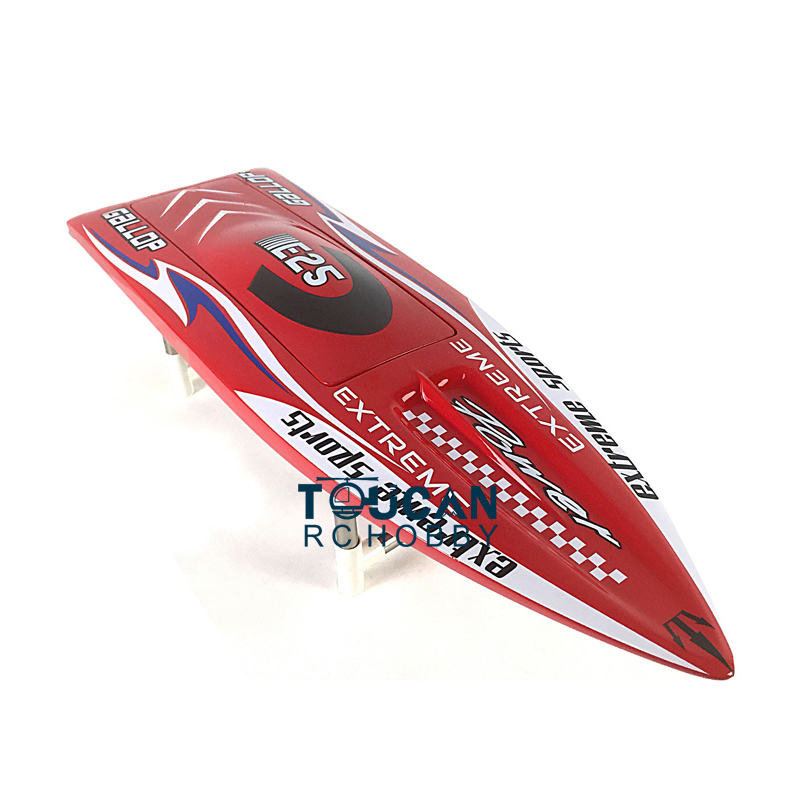 E25 KIT Gallop Fiber Glass Electric RC Racing Speed Boat Hull Only for Advanced Player Red h625 pnp spike fiber glass electric racing speed boat deep vee rc boat w 3350kv brushless motor 90a esc servo green