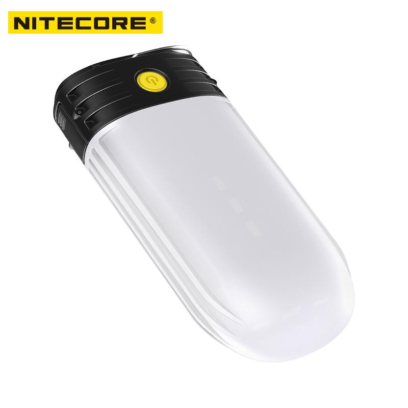 Image 4 - NITECORE LR50 Rechargeable Camping Lantern & Power Bank 9x High CRI LEDs 250 Lumens Uses 2x18650 or 4xCR123A batteries-in Portable Lighting Accessories from Lights & Lighting