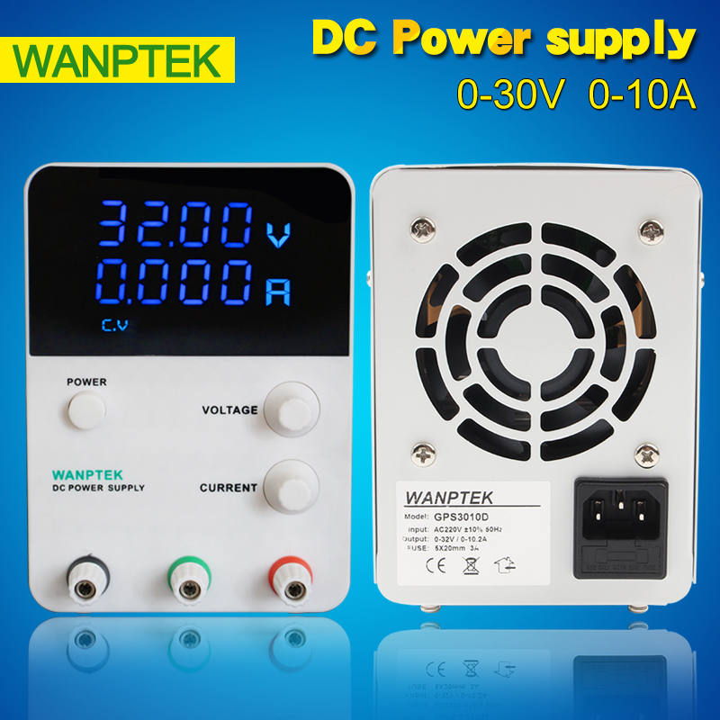 GPS3010D LED Digital Single phase Adjustable DC Power Supply ,0~30V 0~10A 220V, Switching Power supply 0.01V/0.001A cps 3010ii 0 30v 0 10a low power digital adjustable dc power supply cps3010 switching power supply