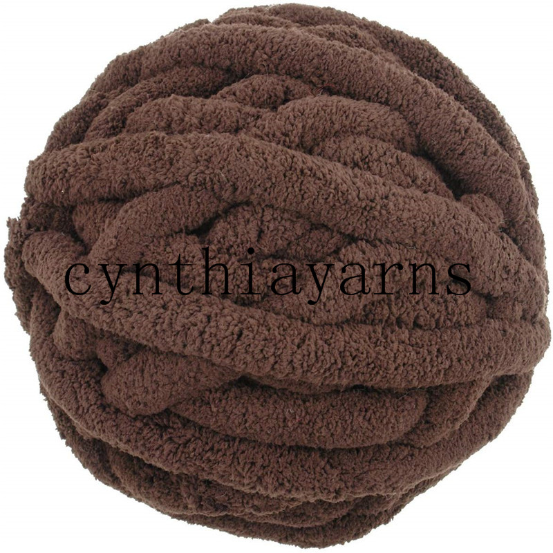 4balls lot 1000g chunky chenille yarn super chunky chenille yarn for knitting blanket other colors check