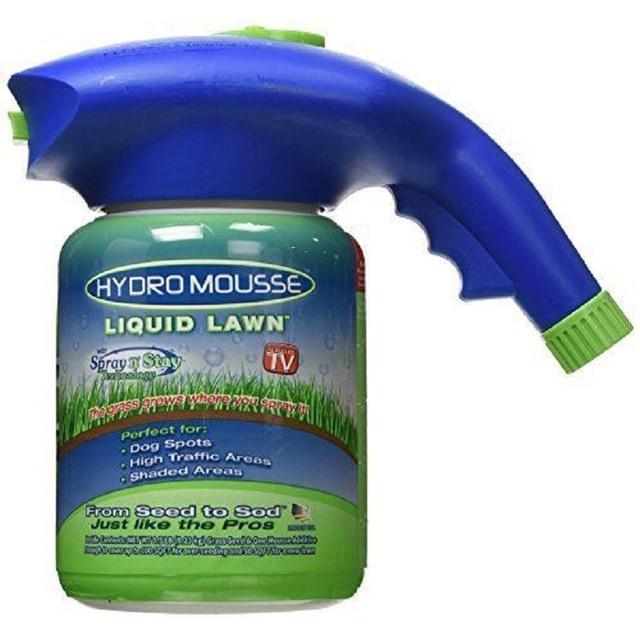 Hydro Mousse Gags Toy Liquid Lawn Sprayer As Seen On Tv Plastic System Liquid Lawn Hydro Mousse Bermuda Grass Seed Sprayer