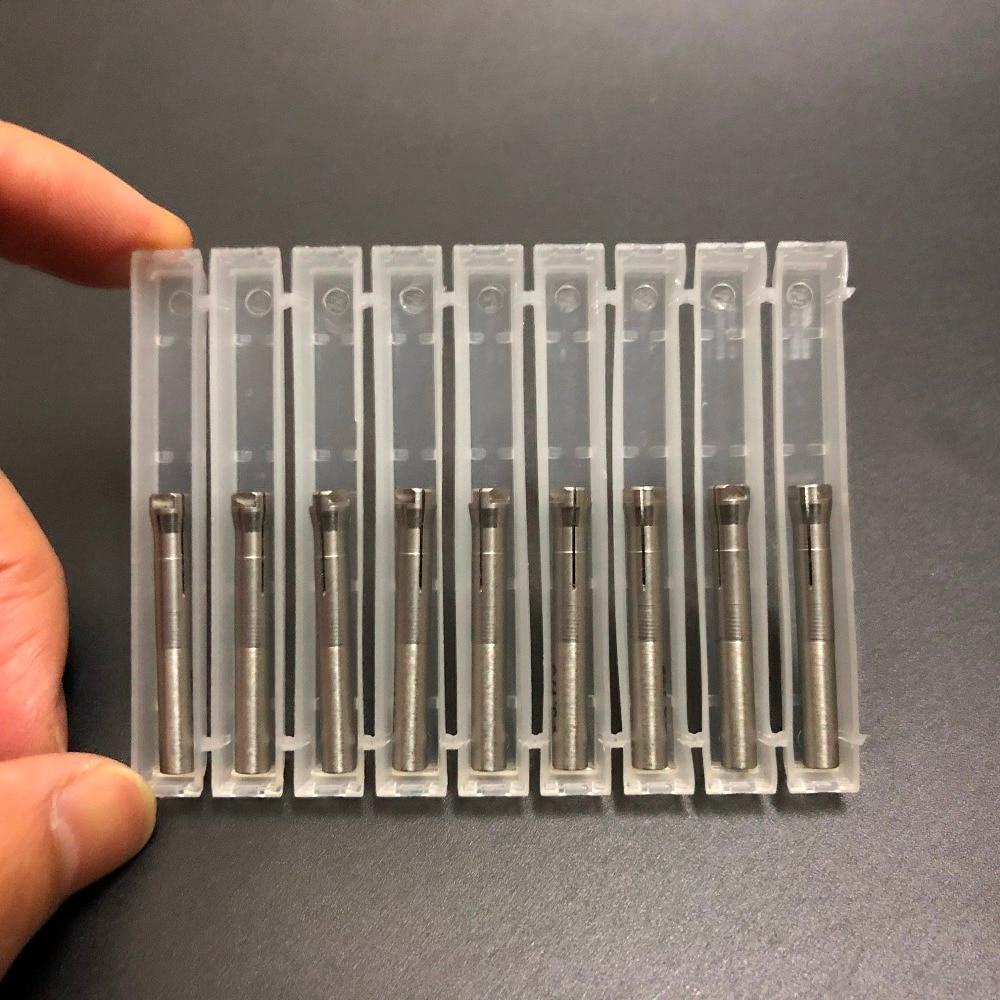 10 pièces de Micro Moteur Dentaire Marathon micromoteur de pièce à main de Mandrin 2.35mm/3.0mm/3.175mm Mandrin Pour Seayang Seashin pièce à main-in Blanchiment des dents from Beauté & Santé    1