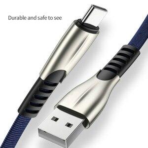 Image 5 - Usb c 용 고속 충전 usb 유형 c 케이블 휴대 전화 케이블 유형 c 케이블 나일론 꼰 코드 용 usb type c 장치 용