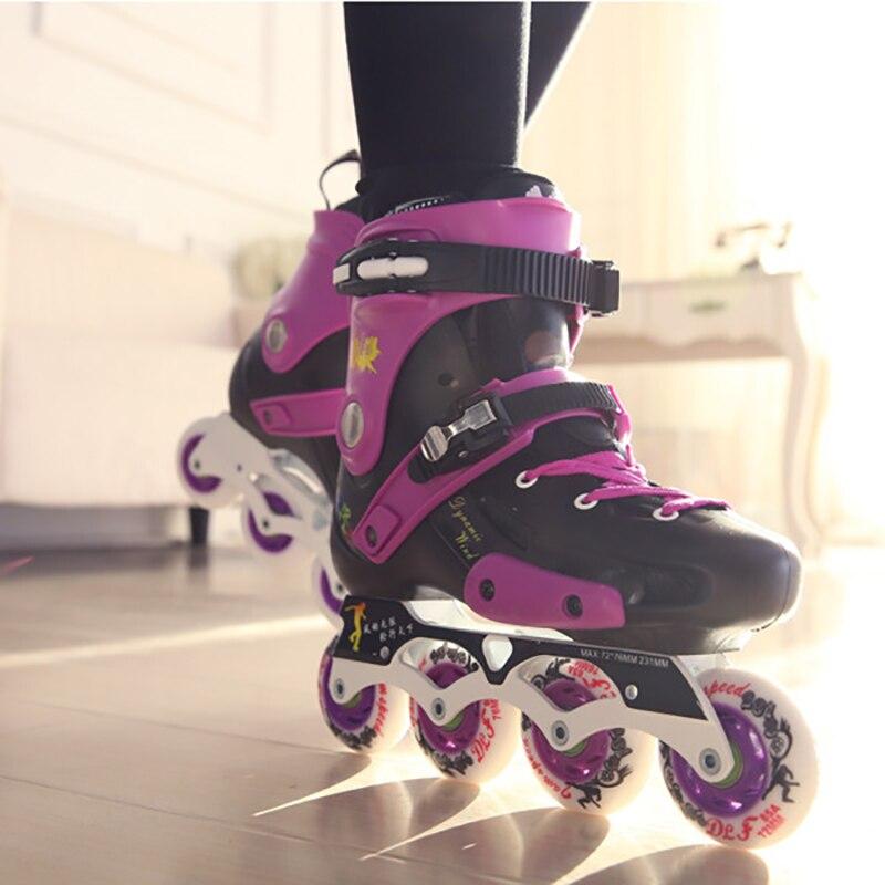 Adult Flat Shoes Skates Inline Skates Roller Skates Men Women Fancy