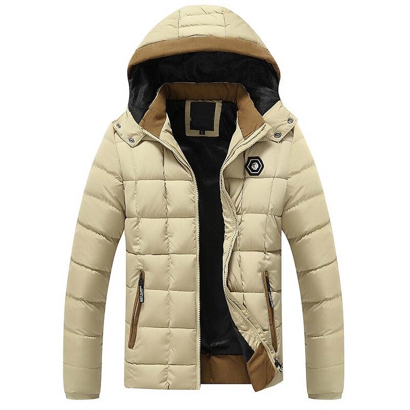 冬のメンズキルトコート高品質フリース綿が詰めファッション人気服キルティングジャケット男