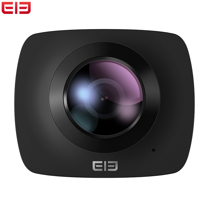 Elephone ELECAM 360 Action Camera With Dual Lens 360 Degrees Support WIFI For Drones With 32GB TF Card Sports Camera