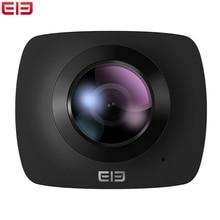 Elephone элекам 360 действие Камера с Двойной объектив 360 градусов Поддержка WI-FI для Дроны с 32 ГБ TF спортивный Камера