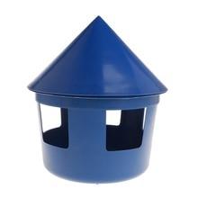 Кормушка для голубей дом дизайн крышка дозатор для кормления еды чехол для песка многофункциональный контейнер для домашних животных Птицы попугая поставки пластик D