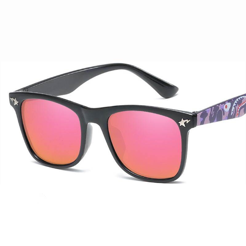 5c65494a4fc3 Aliexpress.com : Buy 2019 fashion new boys girls sunglasses children anti  UV travel tour decorating sun glasses reflective color film child mirror  from ...