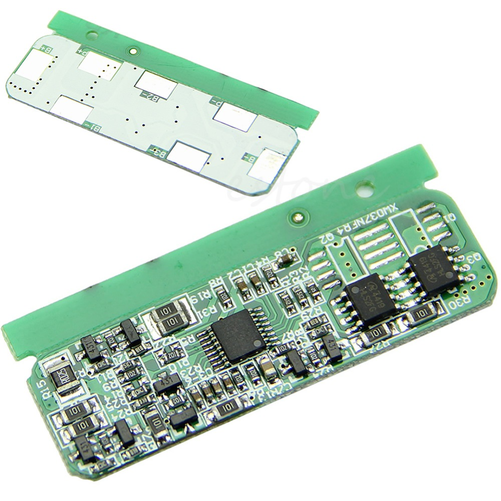 1pcs Max. 4-5A PCB BMS Protection Board Plate Li-ion Battery Cell Circuit Board  48vbattery protection bms pcb board for13s 80a li ion cell max 80a communication base station storage