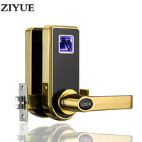 Free Shipping Security Digital Electronic Smart Biometric Fingerprint Door Lock for Apartment Office Home Easy Install