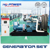375kva large powerful genset diesel engine generator from shandong