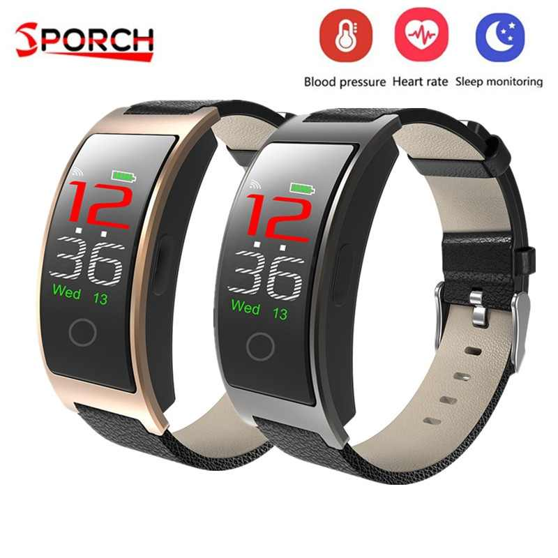 CK11C Smart Wristband Colorful IPS Screen Heart Rate Monitor Smart Bracelet Pedometer IP67 Waterproof Smart Band PK CK11S