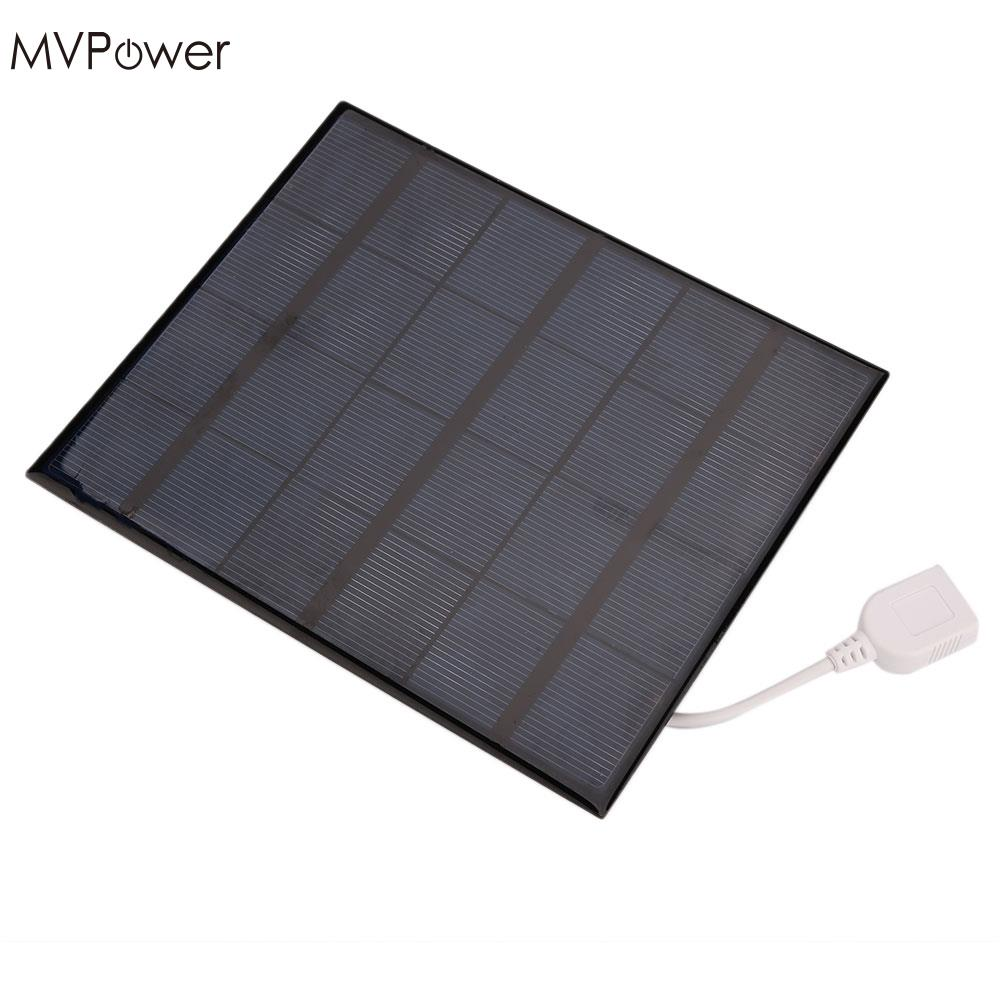 Amzdeal 2017 Usb Solar Power Panel Battery Charger Diy 6v 3.6w Solar Panel Bank For Android Mobile Smart Phone Portable Computer Peripherals Computer & Office