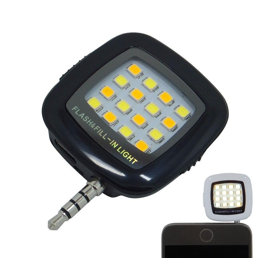 Smart phone flash lighting, led flash light selfie lamp for phone flashlight camera cellphone viltrox speedlite