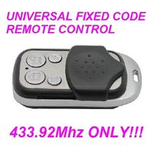 V2 TRR2-43,TRR4-43 Universal Remote Control Garage Gate Transmitter Fob Universal Remote Cloning/Duplicator 433.92mhz fixed code v2 compatible remote for v2 garage door remote model v2 txc phoenix2 phoenix4 tsc4 trc v2 handy remote compatible