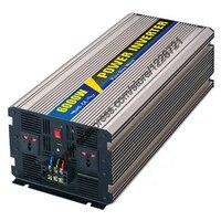 6000W Pure Sine Wave Inverter For Solar Panel 12VDC 24VDC 48VDC To AC110V 220V For Small