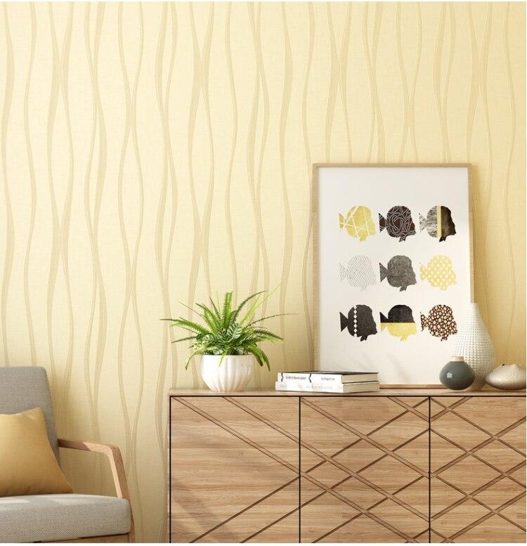 tecido texturizado tarja rolos para o quarto