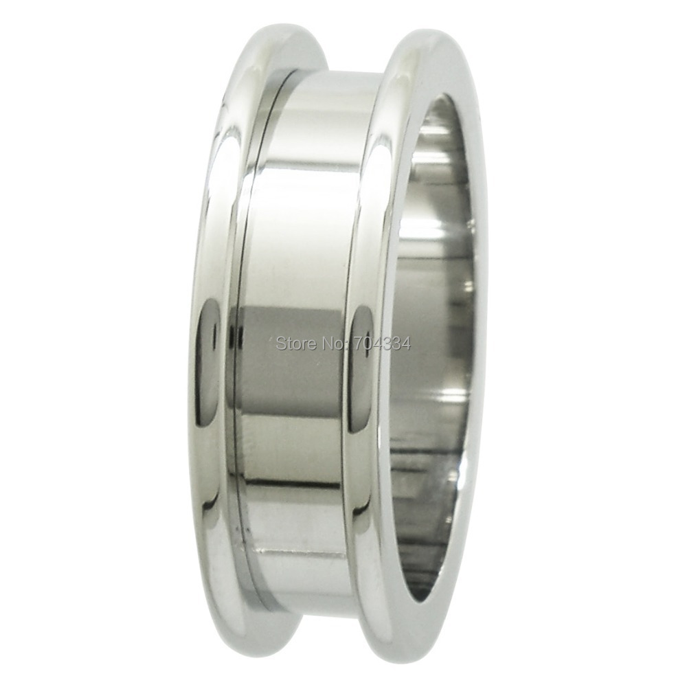 26MM 316L SURGICAL STAINLESS STEEL FLESH TUNNEL