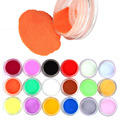 18 Colors Acrylic Carving Powder Dust UV Gel Design 3D Tips Decoration Manicure Nail Art Dropship