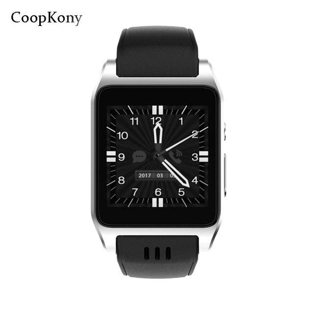 fb80ff2997b Coopkony 3g GPS WIFI MTK Quad Core Smartwatch Relógio Inteligente Android  Câmera Do Telefone Monitor de Freqüência Cardíaca Relógios Inteligentes  Para IOS