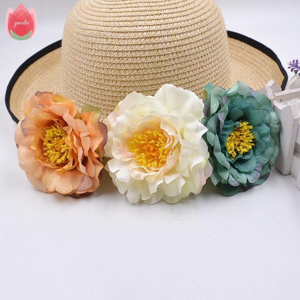 Wholesale 20pcs Silk Artificial Peony Flowers For Wedding Home