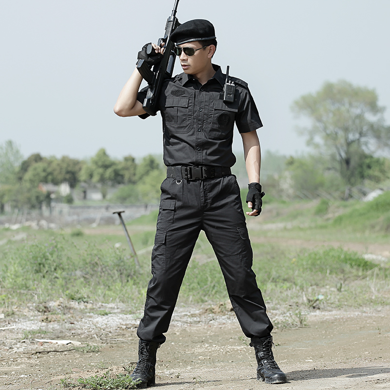4e725c5e63ae3 Summer short sleeved military combat uniforms Military tatico enthusiasts suits  men Hunting clothes German wwii uniforms Black on Aliexpress.com | Alibaba  ...