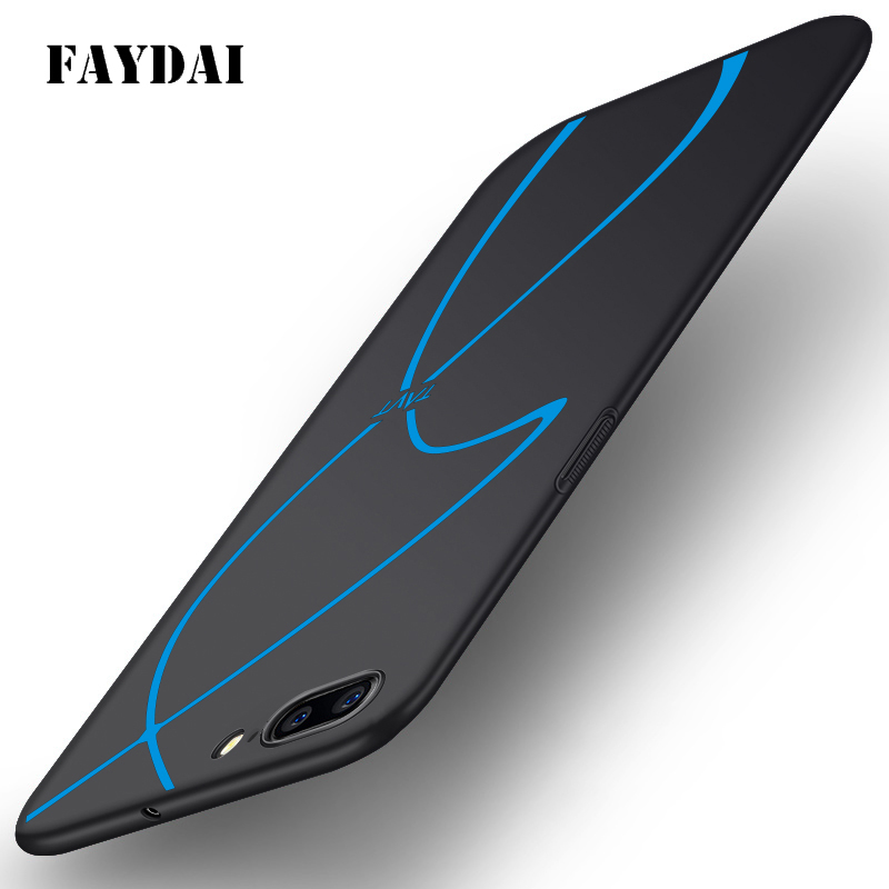 FAYDAI Case For Oneplus 5 Case Luxury Hard Frosted PC Plastic Matte Back Cover For Oneplus