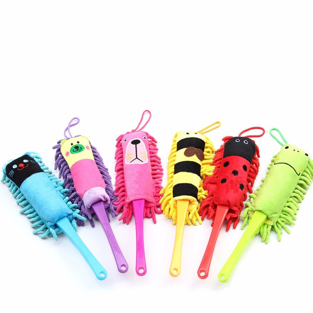 Originality duster Cartoon Animal Clean Dust Computer Color Brush Remove