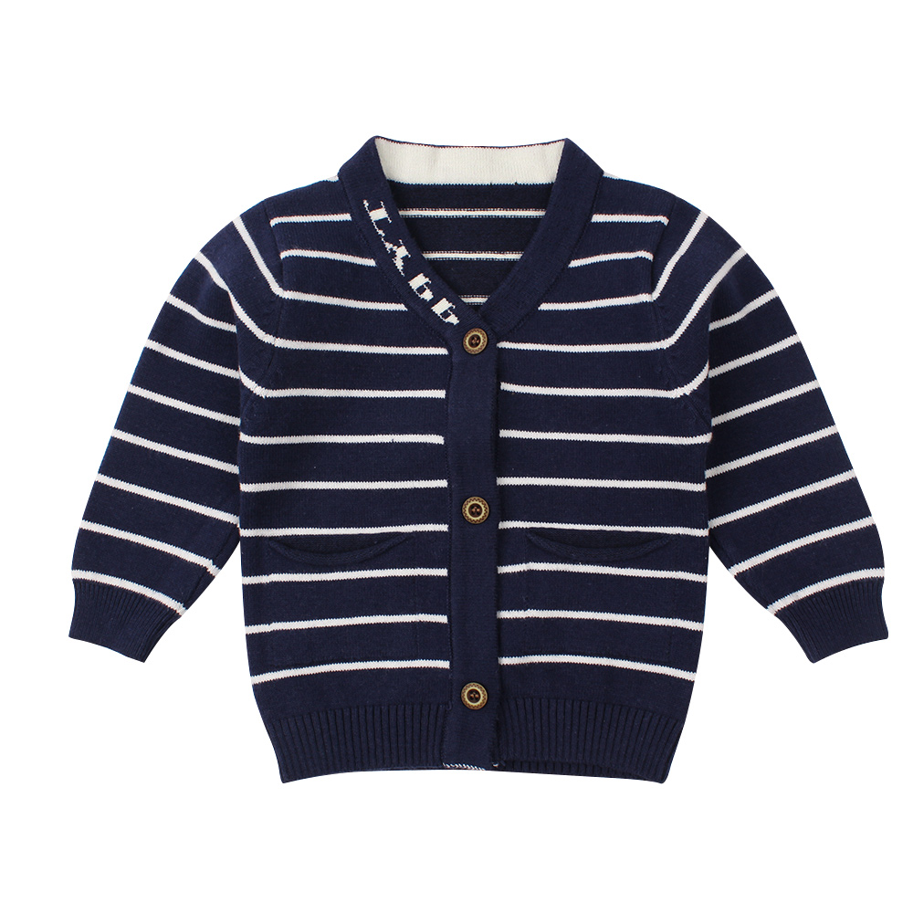 FORESTIME Toddler Kid Boys Girls Cartoon Clothes Knitted Cloud Sweater Cardigan Coat Tops