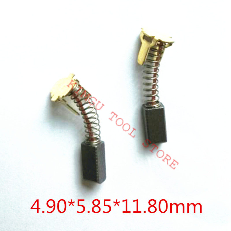 2 Pairs Replacement  Carbon Brushes For HITACHI 999054 DV14DSL DV14DL DS18DSL DS18DSAL DS18DMR DS18DL DS14DSL DS14DSAL DS14DMR