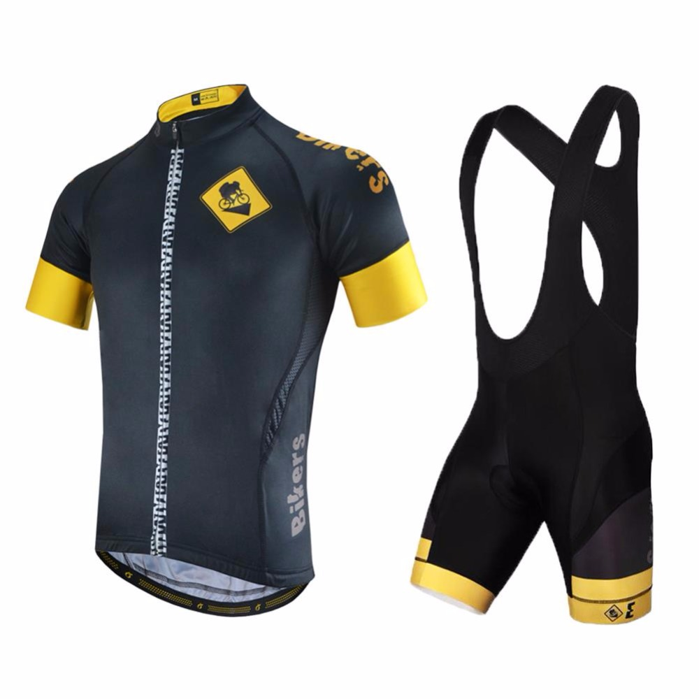 Customized !New Arrival Bikers Cycling Jersey And bib Shorts Suit / Bicycle Clothing Bike Blothes Sling Short-term Ropa Ciclismo