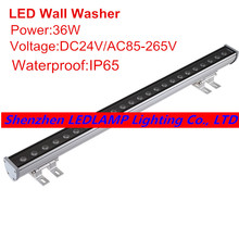 DHL/Fedex Free shipping 36W LED Wall Washer Light,LED outdoo