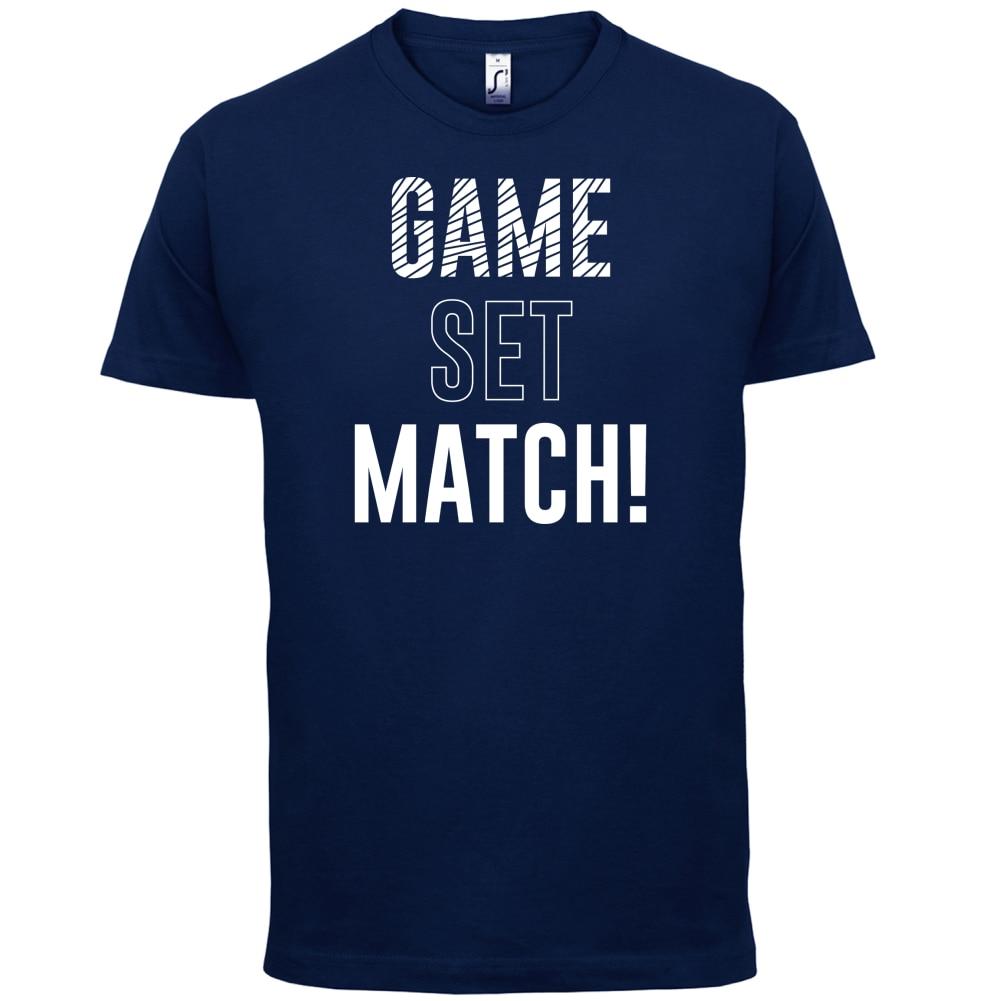 Game Set Match Mens T Shirt TenER Summer SportER Print T Shirt Mens Short Sleeve Hot Tops Tshirt Homme in T Shirts from Men 39 s Clothing