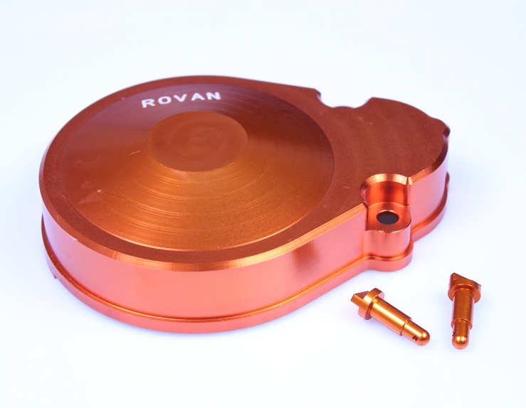 CNC metal gear cover for1/5 HPI baja 5b KM ROVAN cnc metal front elevation shield for1 5 hpi baja 5b km rovan
