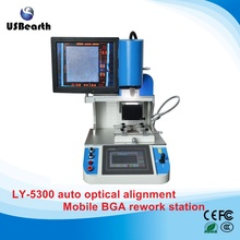 Automatic BGA Rework Station LY 5300 infrared and hot air Mobile BGA Welding Machine with optical alignment to Russia free tax