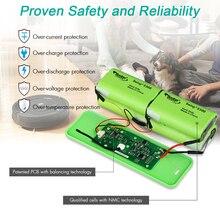Floureon 14,8 V 5300mAh литий-ионный аккумулятор совместим с IRobot Roomba 500 600 700 800 980 серии
