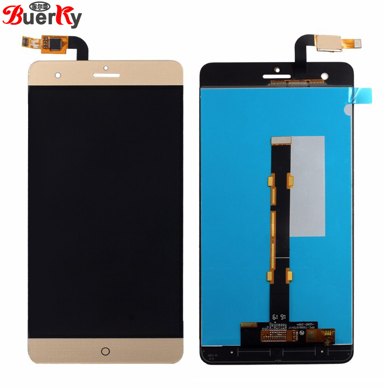BKparts 5pcs For ZTE Blade V7 Max BV0710 LCD Display Touch Screen For ZTE V7 Max LCD Screen Glass Digitizer Complete Assembly