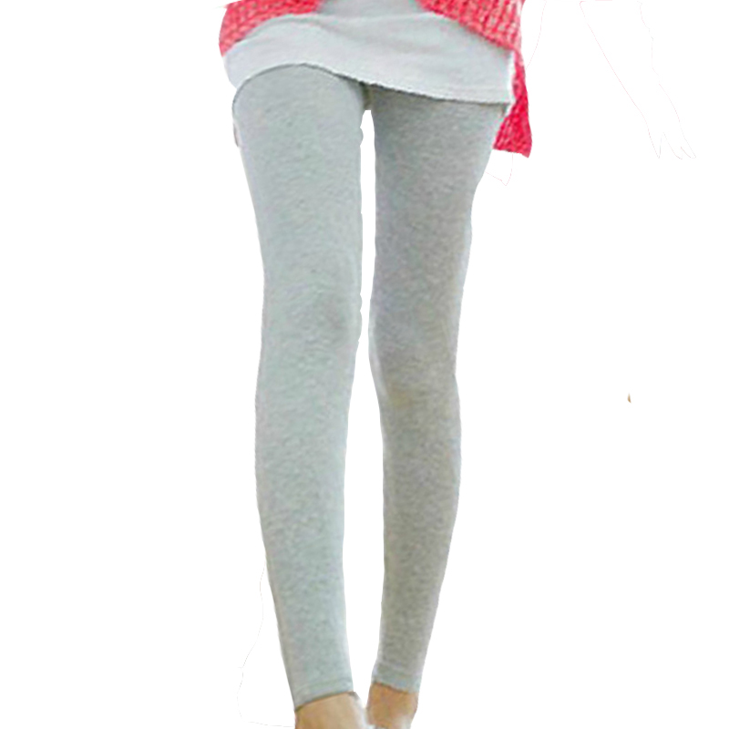 Ladies White Cropped Leggings
