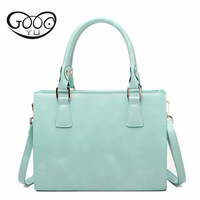 Woman Bag Candy Color Shoulder Bags Casual Simple Totes Fresh Cherry Women Messenger Bags Suitable For Informal Leather Handbags