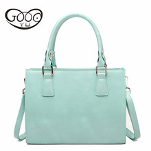 Woman Bag Candy Color Shoulder Bags Casual Simple Totes Fresh Cherry Women Messenger Bags Suitable For Informal Leather Handbags(China)