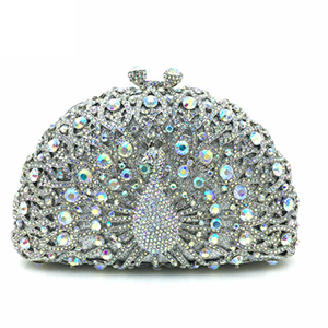 New Women Evening Clutches Bags Ladies Flower Wedding Bag Day Purse Female Party Clutch bags silver/gold/blue/beige недорого