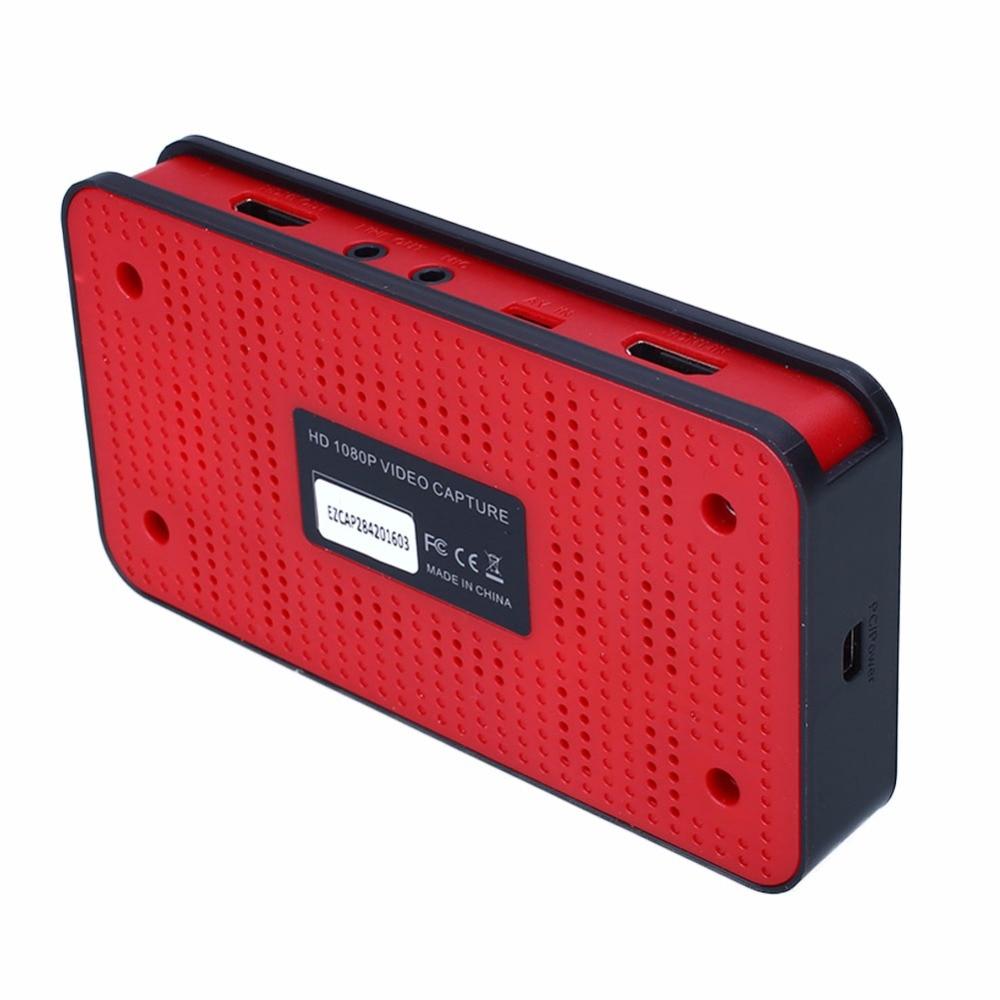 Boîte d'enregistrement vidéo de Capture HD de jeu d'ezcap HDMI pour PS3 PS4 Xbox One/360 WiiU Nintendo, Support voix off/Narratage on AliExpress - 11.11_Double 11_Singles' Day 1