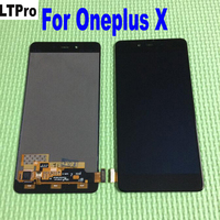 High Quality 5 0 For Oneplus X LCD Display Touch Screen Sensor Completed Digitizer Assembly Mobile