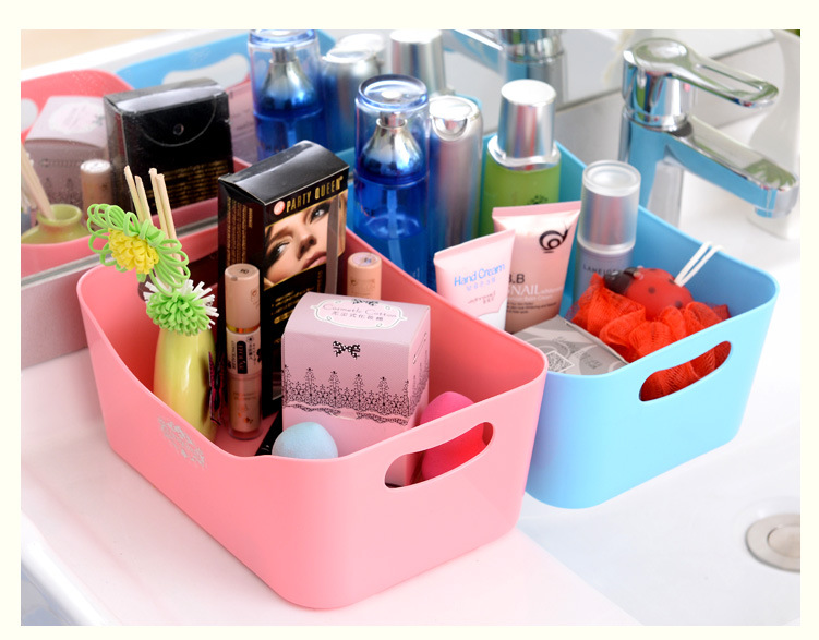 1PC New Home Storage Boxes For Underwear Socks Ties Bra Closet Plastic Storage Box Organizer Container LF 055