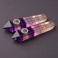 1,9x3x10,5 см Кристалл Камень 1 шт. Натуральный Камень кварцевый кристалл украшение лабрадорит камень курительная трубка для исцеления