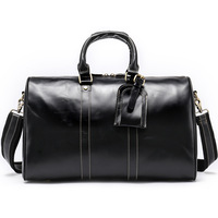 Crazy Horse Leather Men Travel Bags Vintage Business Male Duffle Bag High capacity Man Travel Bags Hand Luggage Organizadores 50