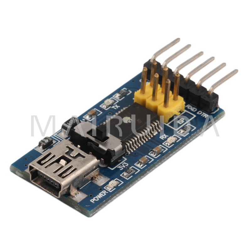 Basic Breakout Board For FTDI FT232RL USB to Serial IC For Hot Worldwide