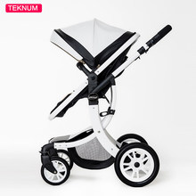 Newarrive Baby Stroller High View Prams Four Wheel Can Sit Baby Trolley Can Be Folded Two-Way baby carriage portable stroller
