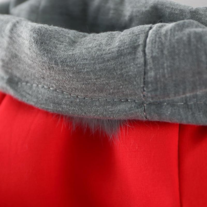 93b0e35932d6 Kawaii Rabbit Ear Hooded Baby Girls Coat Autumn Winter Kids Fur Ball ...